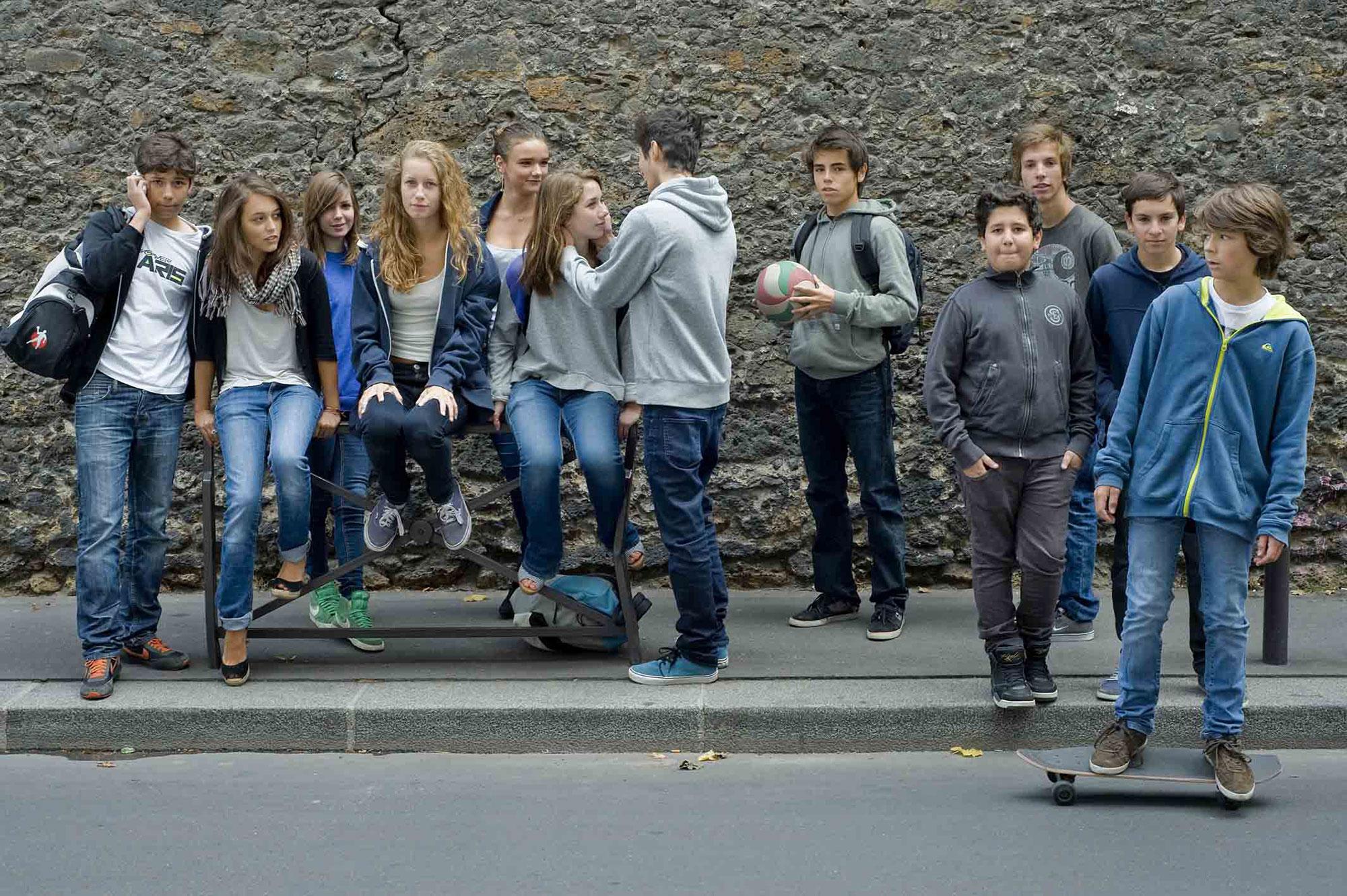 Adolescents Parisiens
