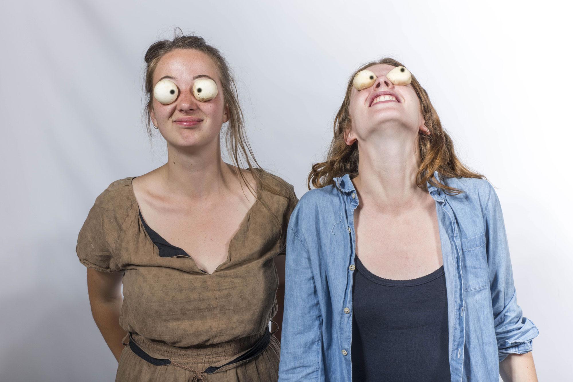 Mathilde et Lola, étudiantes en cinéma